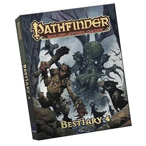 Pathfinder Roleplaying Game: Bestiary 4 Pocket Edition - (Paperback) - image 1 of 1