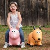 Farm Hoppers Inflatable Bouncing Yellow Dog - image 2 of 4