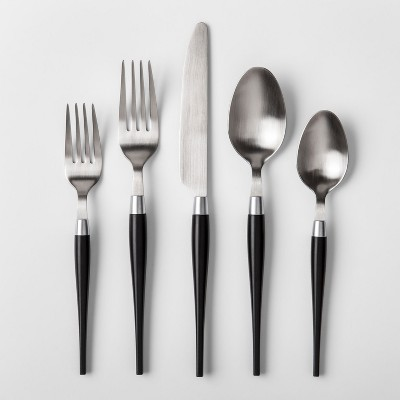 5pc Matte Black Silverware Set - Project 62™