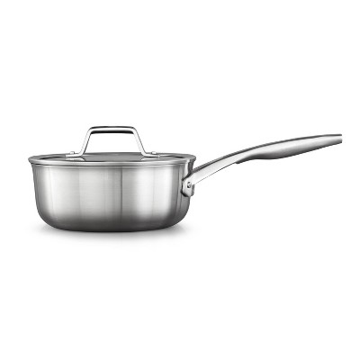 Calphalon Premier 2.5qt Stainless Steel Sauce Pan with Cover