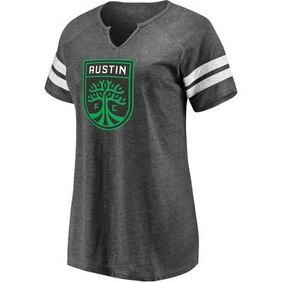 MLS Austin FC Women's Short Sleeve Split Neck T-Shirt