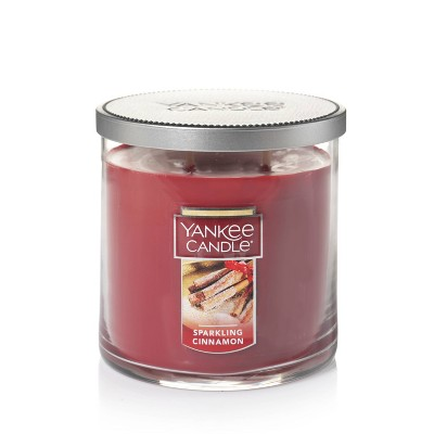 12.5oz Lidded Glass Jar 2-Wick Sparkling Cinnamon Candle - Yankee Candle