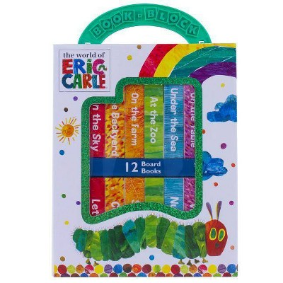 World of Eric Carle My First Library 12 Board Book Block Set - by Phoenix (Board Book)