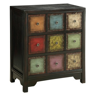 Conde 3 Drawer Chest Weathered Brown - Treasure Trove Accents