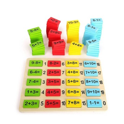 Small Foot Wooden Toys Addition And Subtraction Math Tiles