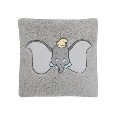 Dumbo Exploration Square Sherpa Throw Pillow