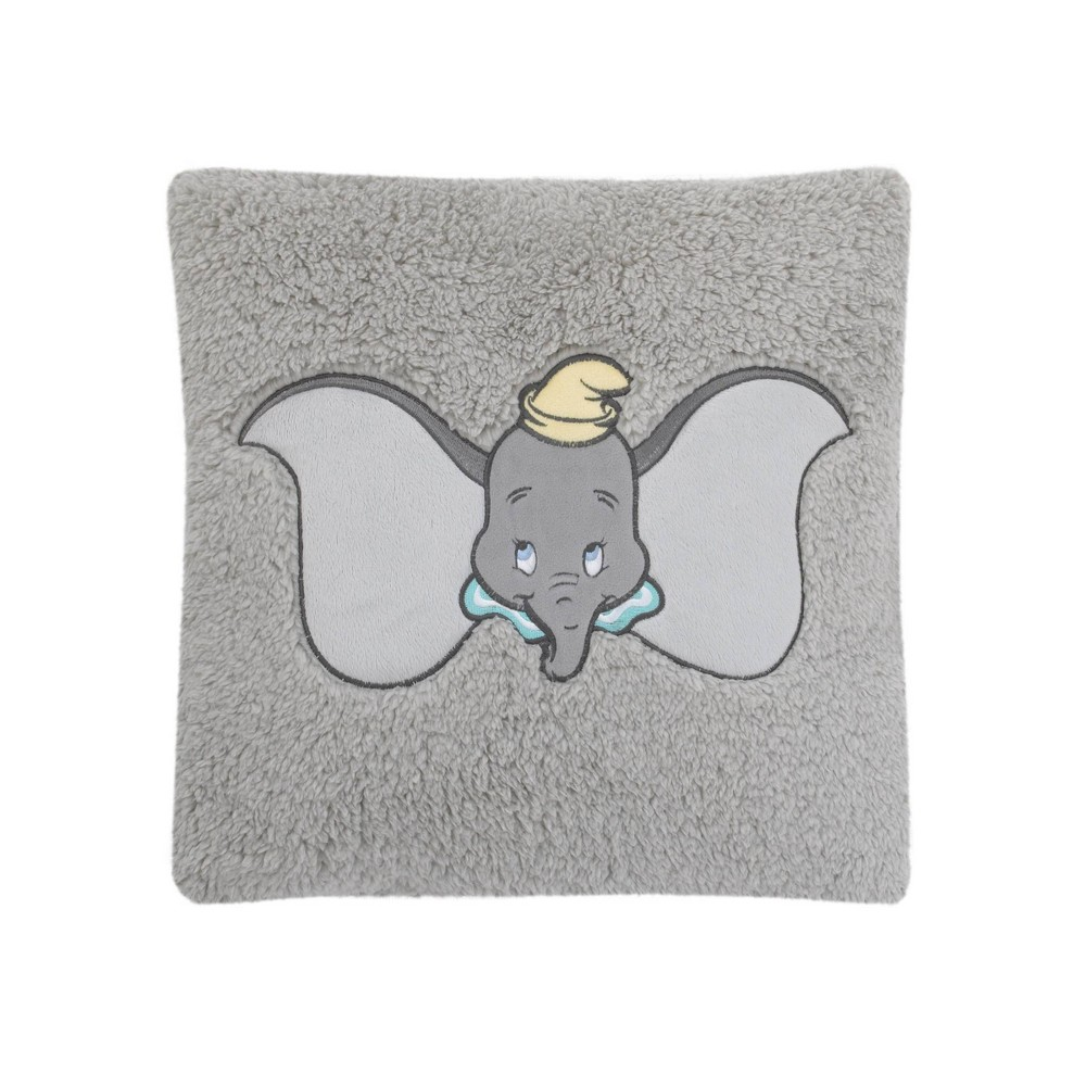 Image of Dumbo Exploration Square Sherpa Throw Pillow