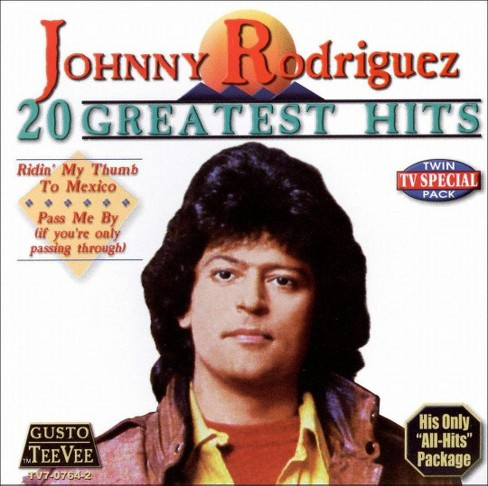 Johnny rodriguez - 20 greatest hits (CD) - image 1 of 1