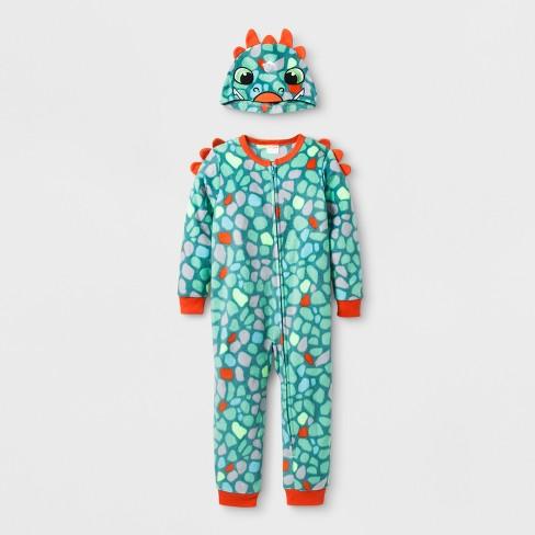 983dbac39 Baby Boys  Dino Blanket Sleeper - Cat   Jack™ Aquarium   Target