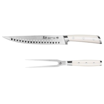"""Cangshan Cutlery S1 Series 2pc Carving Set 9"""" Carving Knife and 6"""" Carving Fork"""
