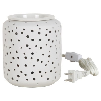 Electric Fragrance Warmer Starlight White - Home Scents By Chesapeake Bay Candle