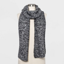 Women's Cable Oblong Scarf - Universal Thread™ One Size
