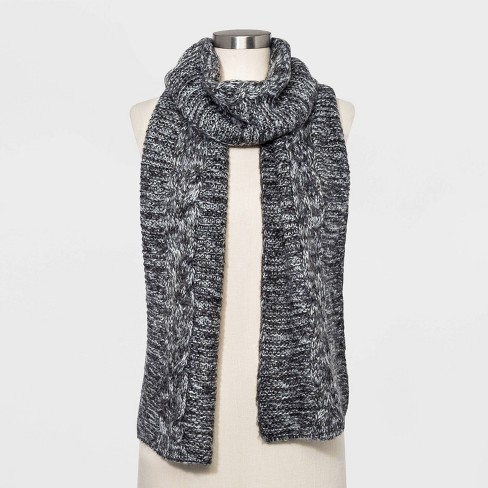 Women's Cable Oblong Scarf - Universal Thread™ One Size - image 1 of 2