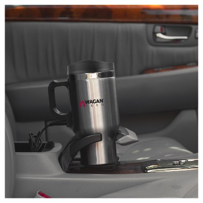 Wagan 12V Double Wall Stainless Steel Travel Mug