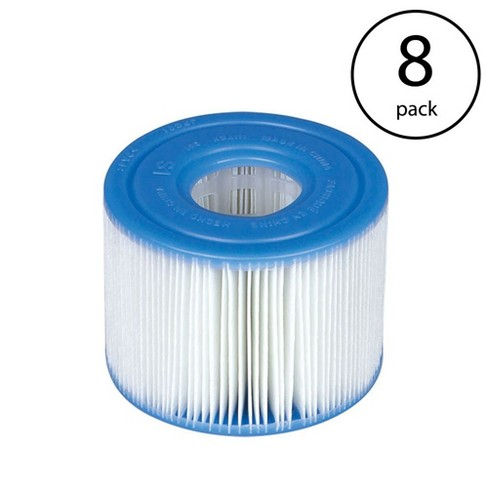 ec3613bade4 Intex Purespa Type S1 Easy Set Pool Filter Replacement Cartridges (8 Filters)    Target