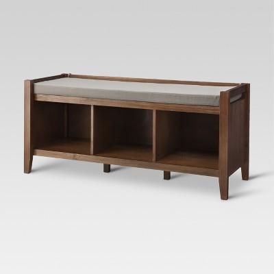Open Storage Bench - Chestnut - Threshold™