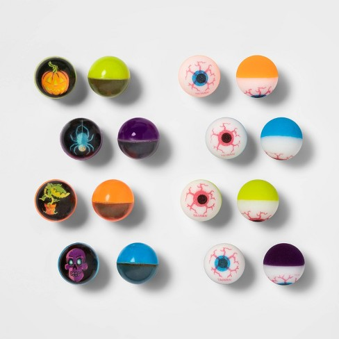 16ct Eyeball Bouncy Ball Halloween Party Favor - Hyde & EEK! Boutique™ - image 1 of 1