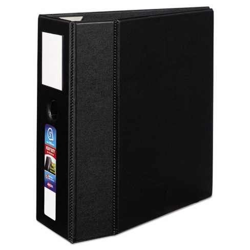 """5"""" Heavy-Duty Ring Binder with One Touch EZD Rings 11"""" x 8.5"""" Black - Avery - image 1 of 4"""