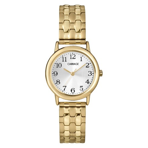 Women's Carriage by Timex Expansion Band Watch - Gold C3C745TG - image 1 of 1