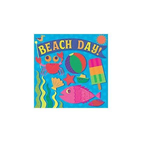 Beach Day! - (Fluorescent Pop!) by  Hunter Reid (Board_book) - image 1 of 1