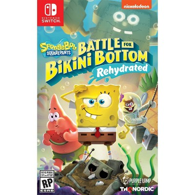 Spongebob SquarePants: Battle for Bikini Bottom - Nintendo Switch