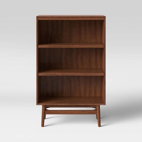 Ellwood Small Wood Bookshelf Brown Project 62 Target