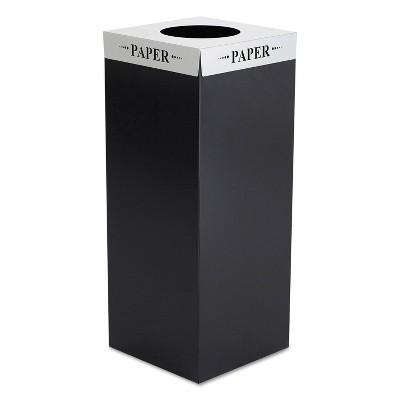 Safco Square-Fecta Lid Paper Silver 2990PA