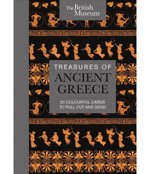 Treasures of Ancient Greece : 20 Colourful Cards to Pull Out and Send (Stationery) - image 1 of 1