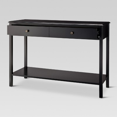 Windham Console Table Black - Threshold