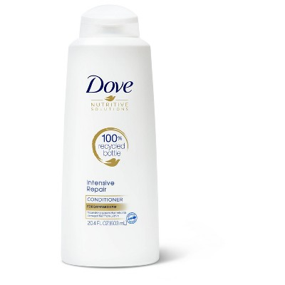 Dove Nutritive Solutions Strengthening Conditioner for Damaged Hair Intensive Repair - 4pk/20.4 fl oz each