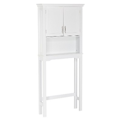 Somerset Collection - Spacesaver Cabinet - White - RiverRidge