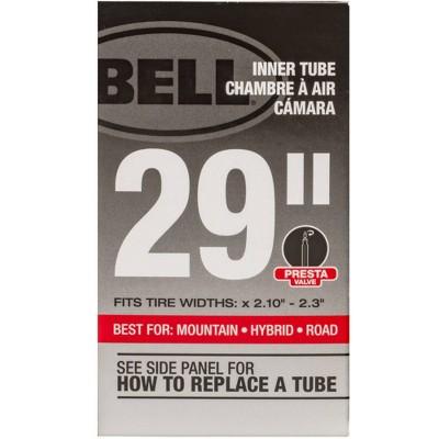 """Bell 29"""" Standard Bike Inner Tube - Black"""