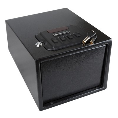 Stalwart Digital Lock and Manual Override Keys and 1.2 mm Thick Walls Gun Safe Black