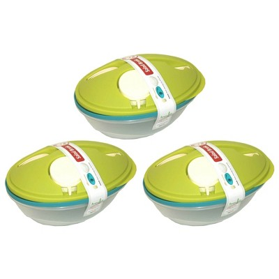 Life Story To-Go Salad Bowls Container w/ Dressing Cup, Lid, & Fork (6 Bowls)