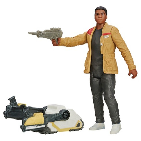 Star Wars The Force Awakens 3.75-Inch Figure Desert Mission Finn (Jakku - image 1 of 2