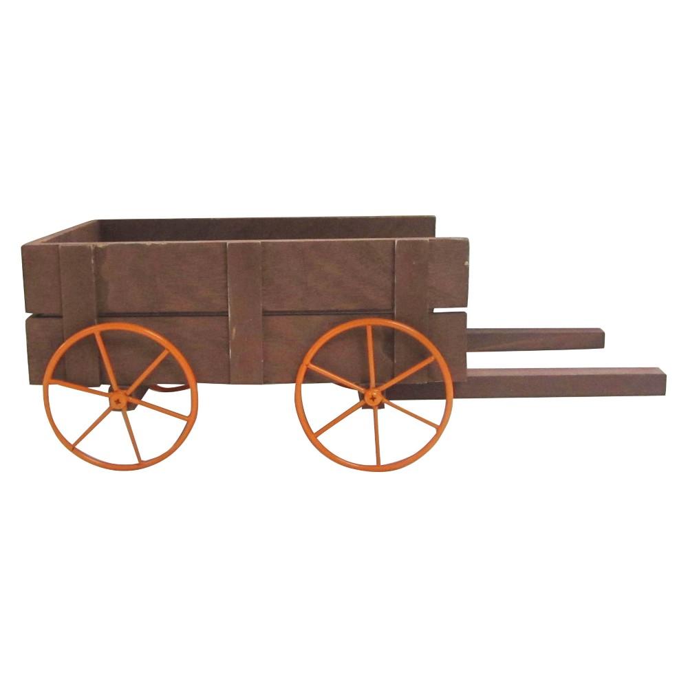 Harvest Decor Collection Wheel Barrel