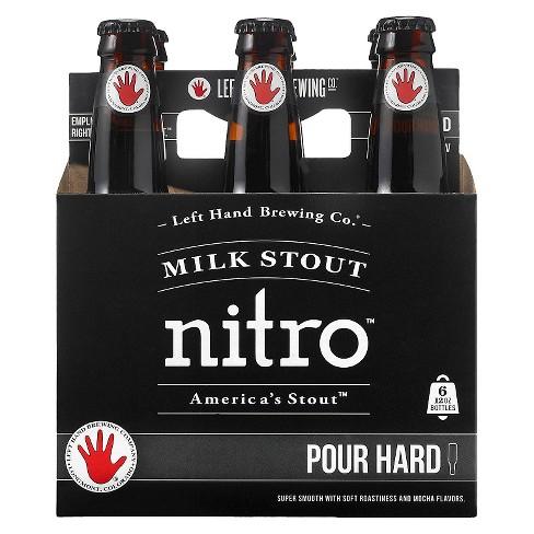 Left Hand Nitro Milk Stout - 6pk/12 fl oz Bottles - image 1 of 1