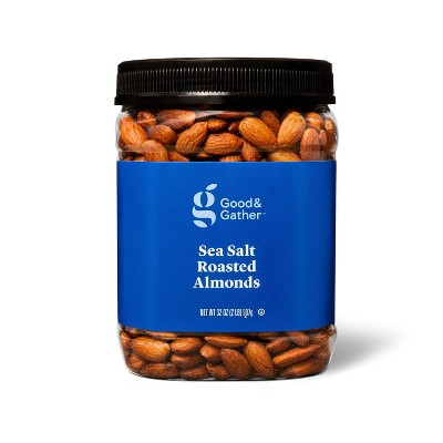 Sea Salt Roasted Almonds - 32oz - Good & Gather™