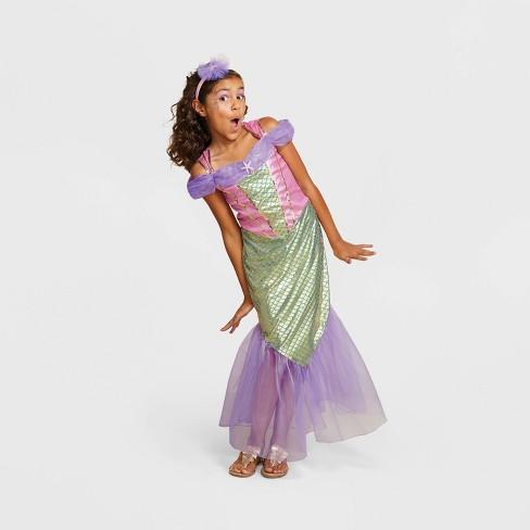 Girls' Mermaid Halloween Costume - Hyde & EEK! Boutique™ - image 1 of 4