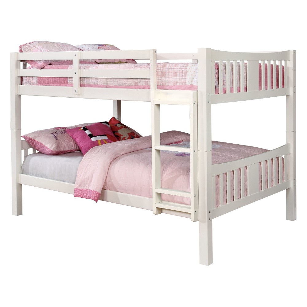 Twin Clare Kids Bunk Bed White - Homes: Inside + Out
