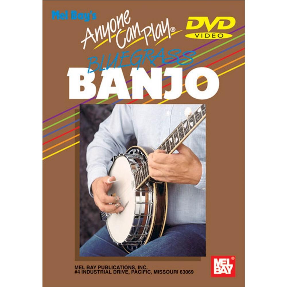Anyone Can Play Bluegrass Banjo (Dvd)
