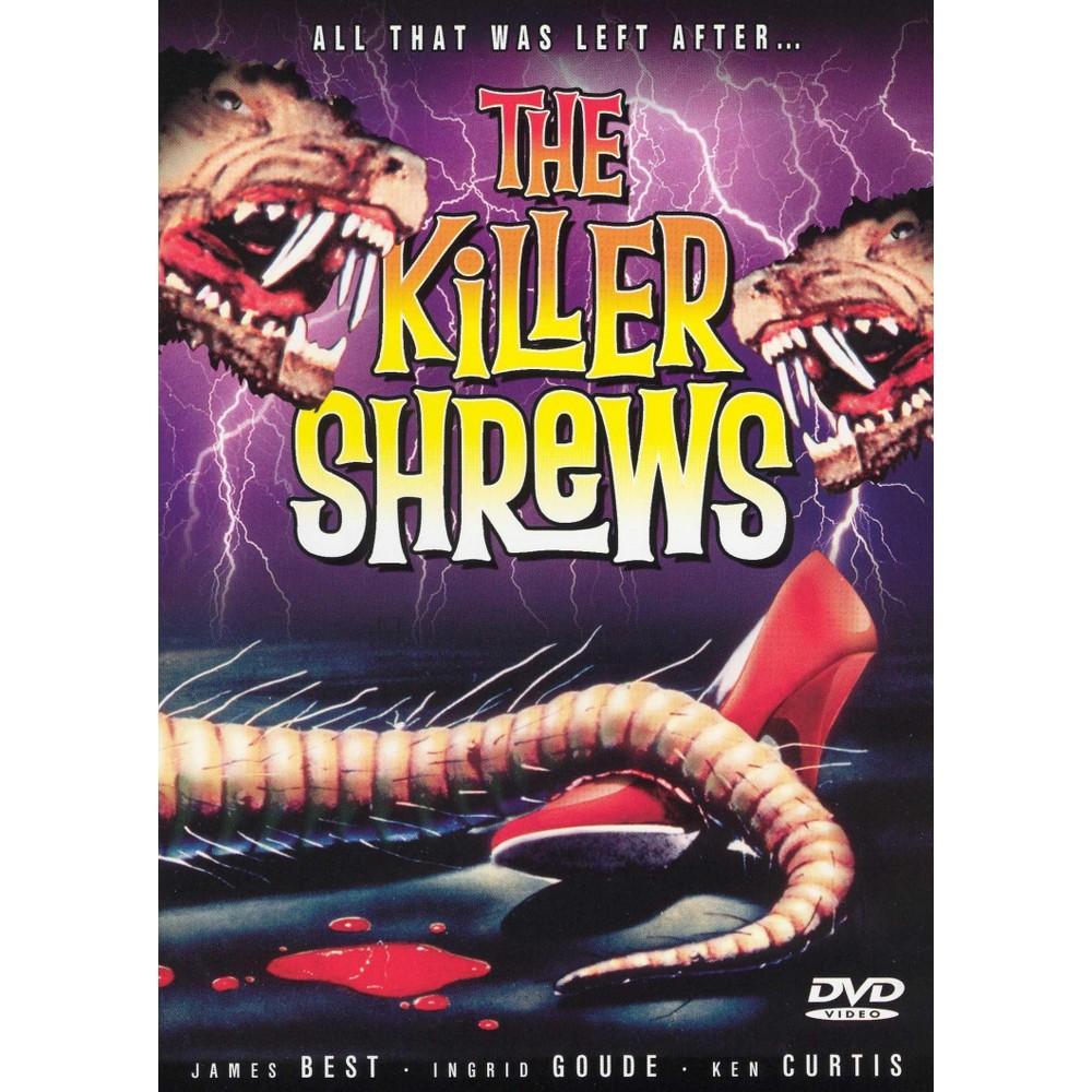 The Killer Shrews Dvd