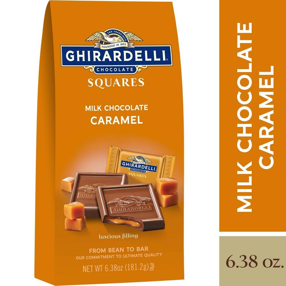 Ghirardelli Milk Chocolate Caramel Squares 6 38oz