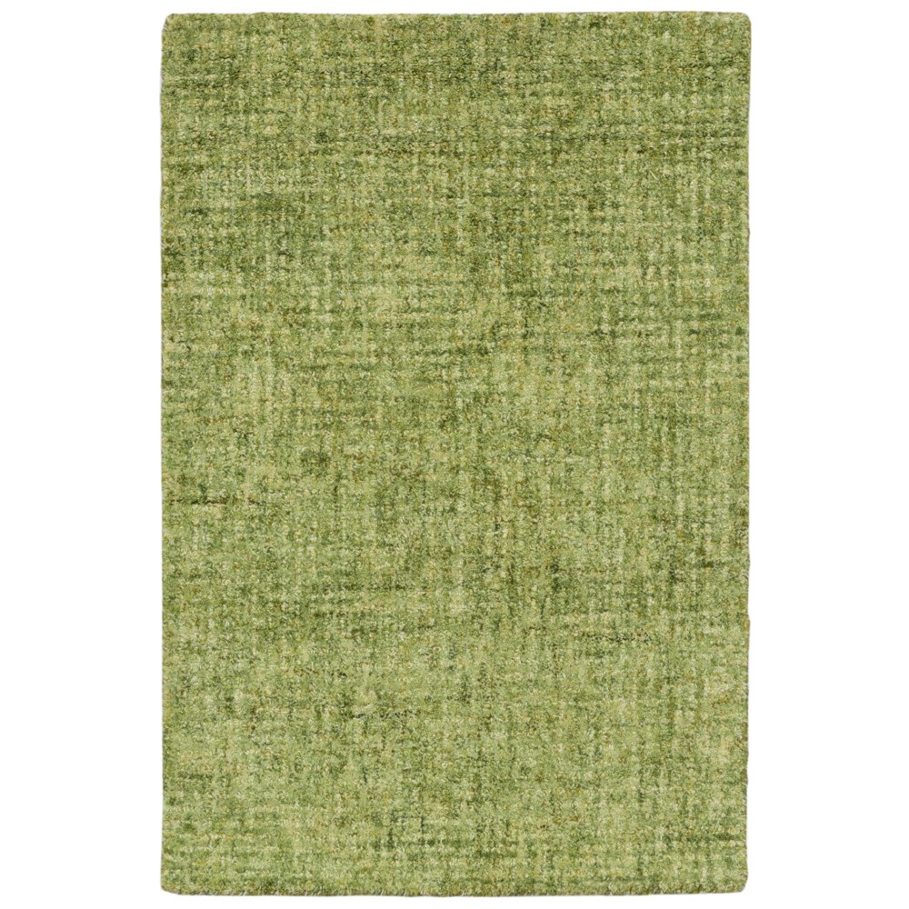 2'X4' Solid Tufted Half-Circle Accent Rug Green - Liora Manne, Blue