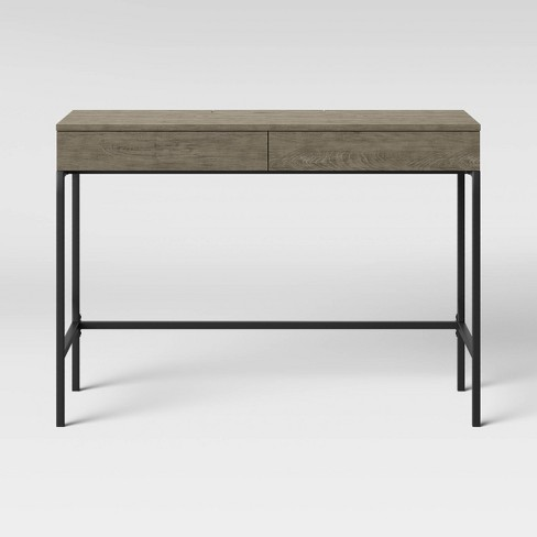 Loring Wood Writing Desk with Drawers - Project 62™ - image 1 of 3