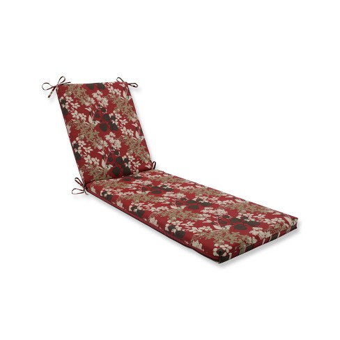 Outdoor Chaise Lounge Cushion - Brown - Pillow Perfect - image 1 of 1