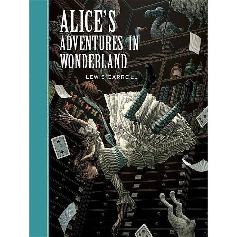 Alice's Adventures in Wonderland - (Sterling Unabridged Classics) by  Lewis Carroll (Hardcover) - image 1 of 1