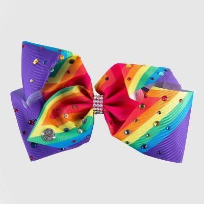 Girls' JoJo Siwa Signature Rainbow Star Bow Hair Clip