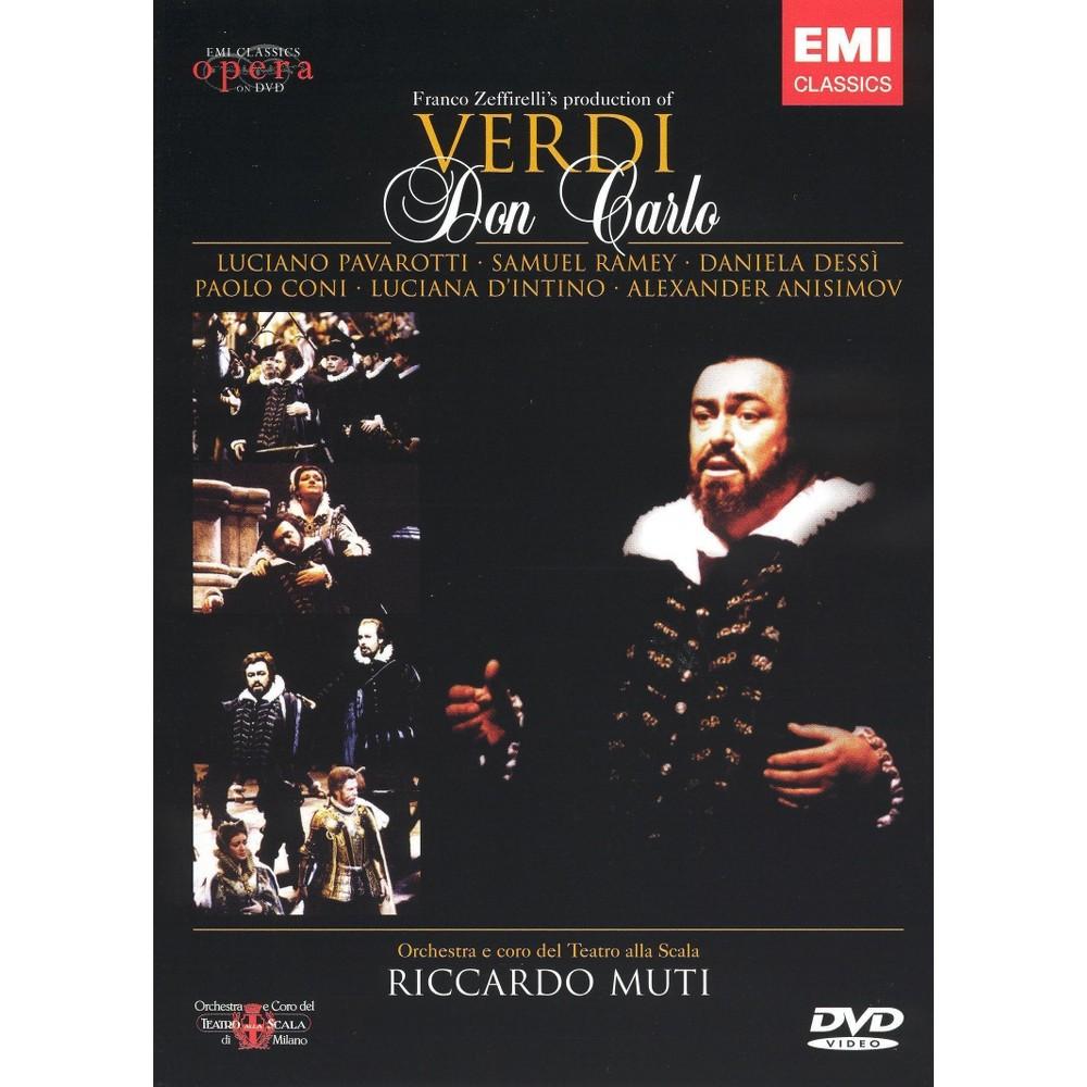 Verdi:Don carlo (Dvd), Movies