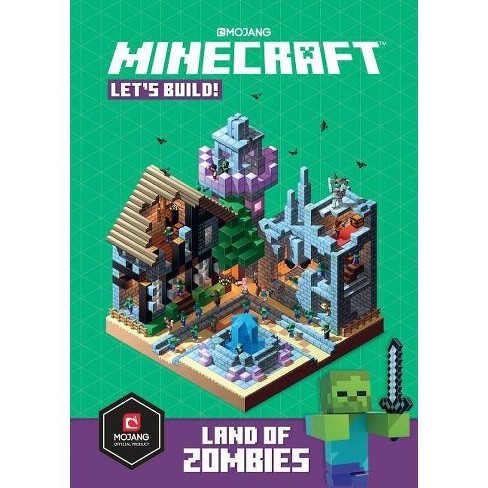 Minecraft: Let's Build! Land of Zombies - (Hardcover) - image 1 of 1